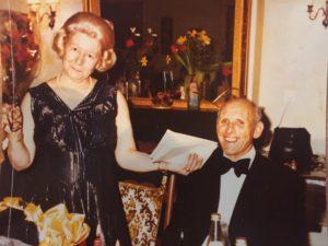 Claudine et Jean Gloor 1976